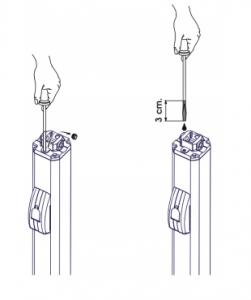 آموزش نصب اپراتور لولایی 400